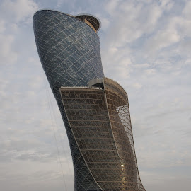 Leaning Tower by Beh Heng Long - Buildings & Architecture Architectural Detail ( abu dhabi )