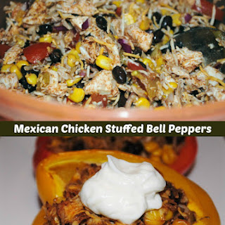 Blast of Color Mexican Stuffed Bell Peppers