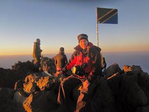 Photo: Ken on summit Mount Meruj