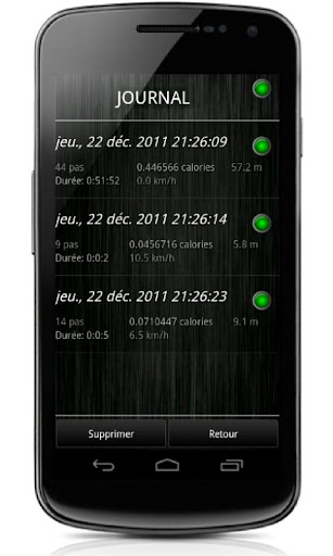 Pedometer screenshot 5
