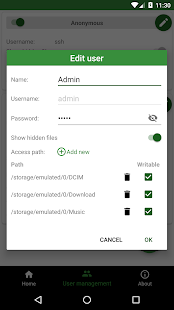 App SSH/SFTP Server - Terminal APK for Windows Phone