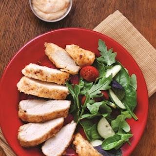Easy Oven-Fried Chicken (Boneless, Skinless).