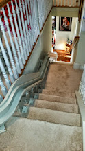 Photo: Bruno Curved Stairlift | Mobility123
