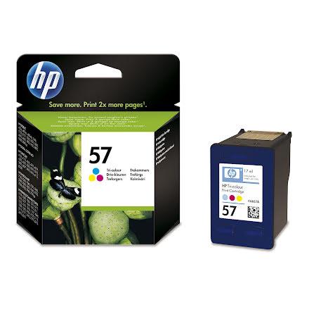 Bläckpatron HP No57     3-färg