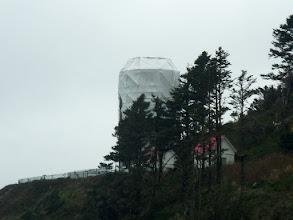 Photo: Heceta Head Lighthouse Under Wraps