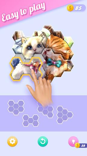 Block Jigsaw - Free Hexa Puzzle Game apkpoly screenshots 6