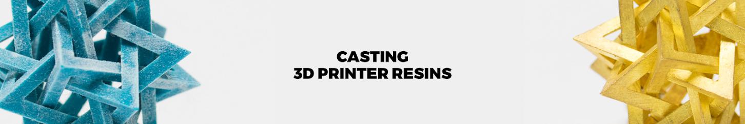 3D Printer Resins for Casting