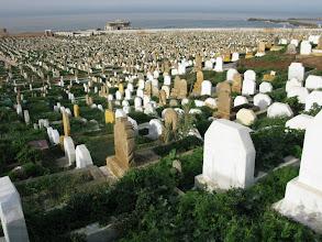 Photo: cmentarz muzułmański, Rabat
