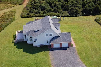 Photo: Aerial View of House