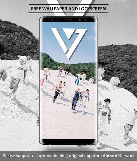 Seventeen Wallpaper KPOP 3.1 screenshots 4
