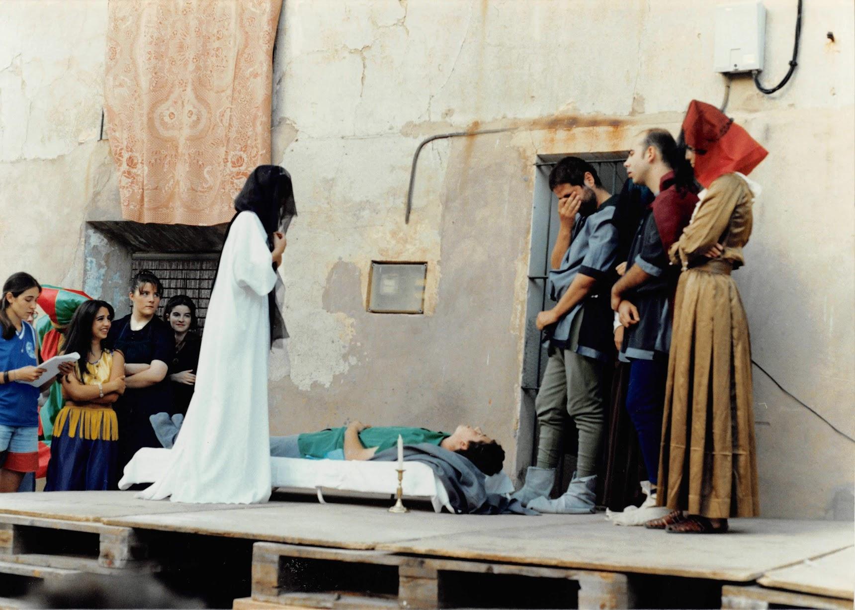 1995 Los amantes de Teruel, representado por