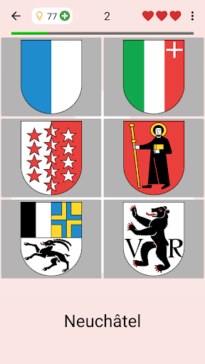 Swiss Cantons - Quiz about Switzerland's Geography apkpoly screenshots 5