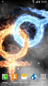 Fire & Ice Live Wallpaper 1.0.7 (AdFree)