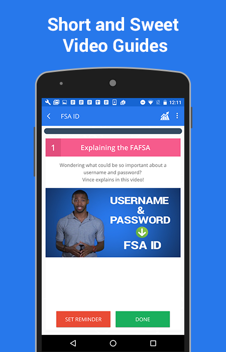 YesU: Financial Aid Done Right- screenshot