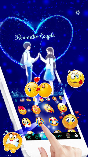 Romantic Love Keyboard Theme 1.0 screenshots 4