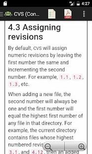 CVS (Version Control) Manual - náhled
