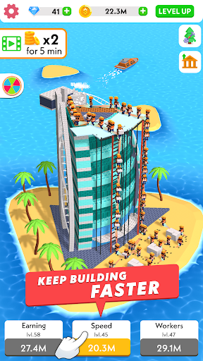 Code Triche Idle Construction 3D APK MOD screenshots 2
