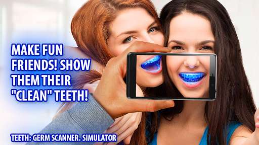 Teeth: Germ Scanner. Simulator Screenshot