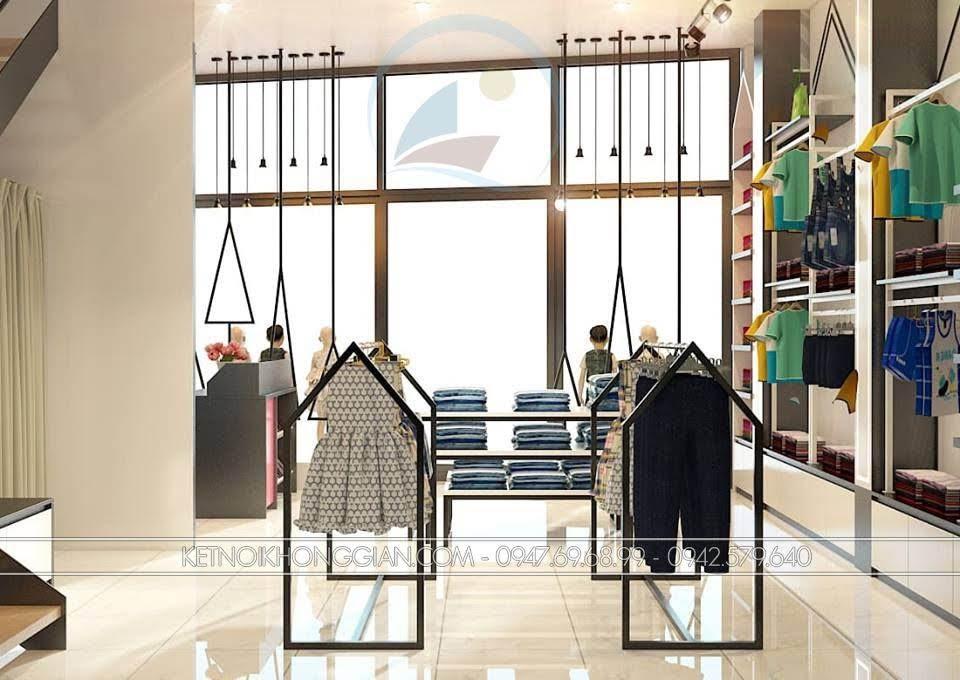 thiết kế shop thời trang trẻ em Chikids 6