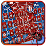 Amazing Spider Web Keyboard Theme