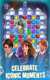Harry Potter Puzzles & Spells MOD (Auto Win/Menu on/off) 3