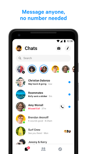 Messenger u2013 Text and Video Chat for Free 198.0.0.11.99 screenshots 1