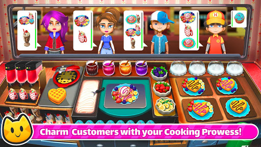 Cooking Games 🔥 Chef Cat Ava 😺 Delicious Kitchen screenshot 2