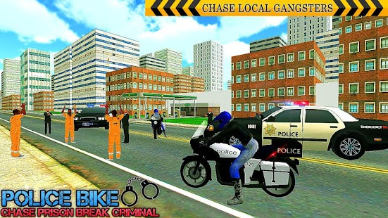 US Police Bike Chase Bitcoin Robber - náhled