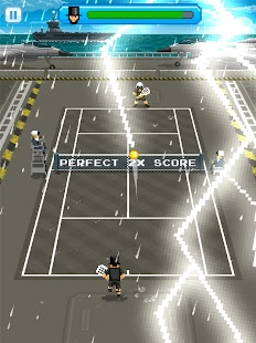 Super One Tap Tennis Screenshot