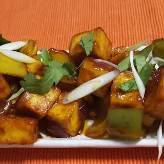 Delicious and Quick Chilli Paneer Recipe | Indian Cottage Cheese Stir Fry.