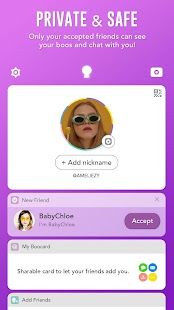 BOO! - Video chat camera with filters & stickers- screenshot thumbnail