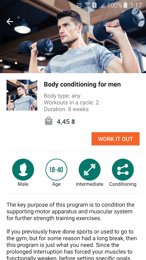 GymBoom – Workout Tracker & Personal Trainer- screenshot