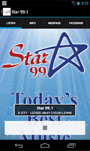 Star 99.1- screenshot thumbnail