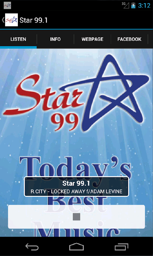 Star 99.1- screenshot