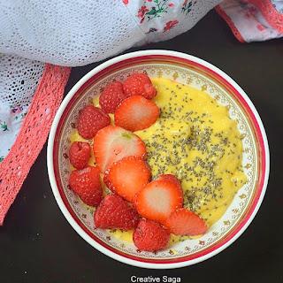 Mango Breakfast Smoothie Bowl Recipe