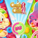 Candy Crush Saga Wallpapers and New Tab Icon