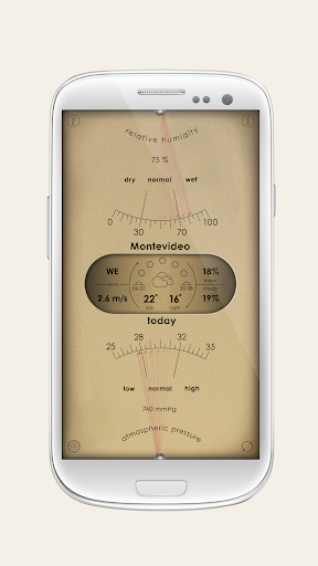 Analog Weather Station - home barometer 2.8.3 screenshots 2