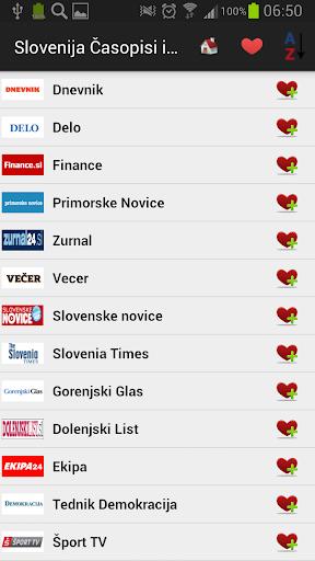Slovenija Časopisi in Novice