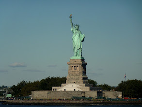Photo: Front View of Ms. Liberty