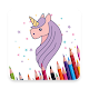 Unicorns coloring Download on Windows
