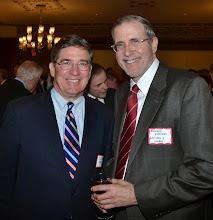 Photo: BBA Past President JD Smeallie (Holland & Knight) and Richard Zielinski (Goulston & Storrs).
