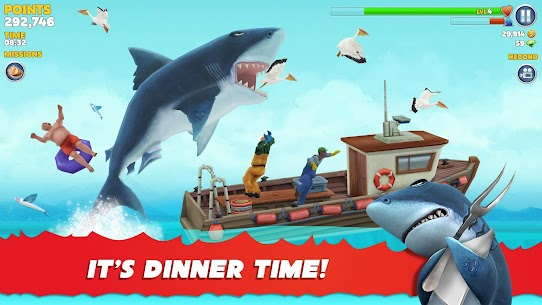 Hungry Shark Evolution Mod Apk 8.0.4 (Unlimited Money Coins + Dimond) 1
