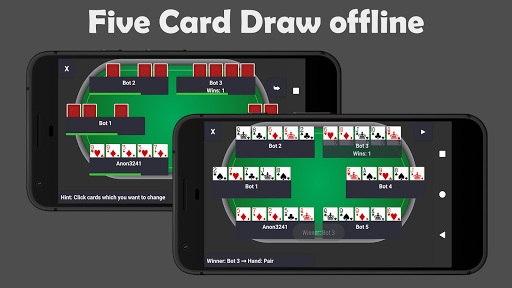 Poker Pocket (Free u2664 Offline u2662 / u2667 Online Casino)  screenshots 3