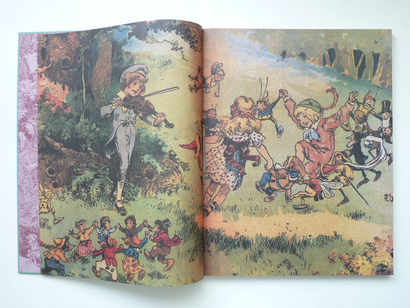 """Photo: Mr. Twee Deedle: Raggedy Ann's Sprightly Cousin - The Forgotten Fantasy Masterpiece of Johnny Gruelle by Johnny Gruelle  http://www.fantagraphics.com/mrtweedeedle  128-page full-color 14"""" x 18"""" hardcover • $75.00 ISBN: 978-1-60699-411-5 - Pages."""