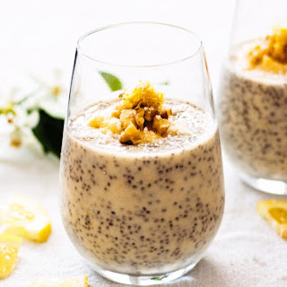 Zesty Lemon and Vanilla Chia Pudding Cups