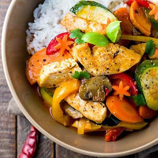 Thai Chicken Curry with Coconut Milk Recipe