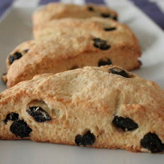 Blueberry Ricotta Scones.