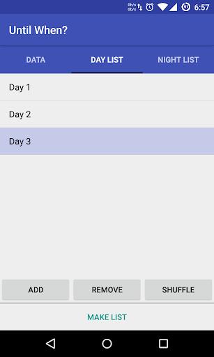玩免費生產應用APP|下載Until When - Shift Organizer app不用錢|硬是要APP
