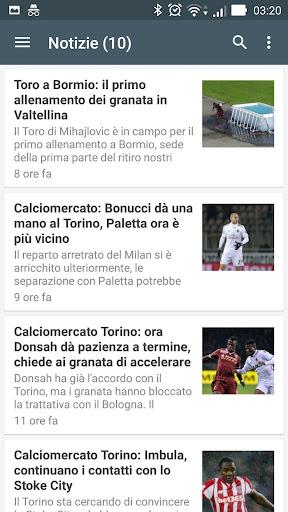 Toro Torino Notizie 1.0 screenshots 5