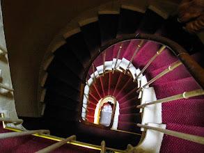Photo: ... в хотел с тесни стълби без асансьор.